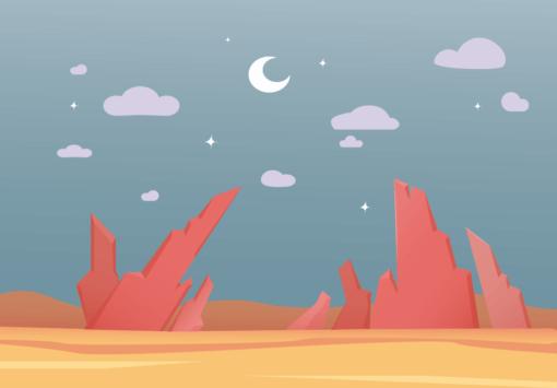 canvamade digital art landscape