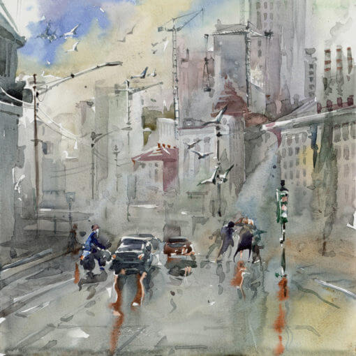 Watercolor | Canvamade |